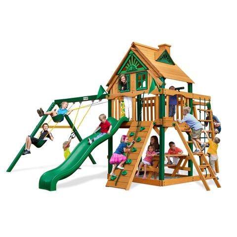 Navigator Treehouse Swing Set_Gorilla Playsets_YardKid