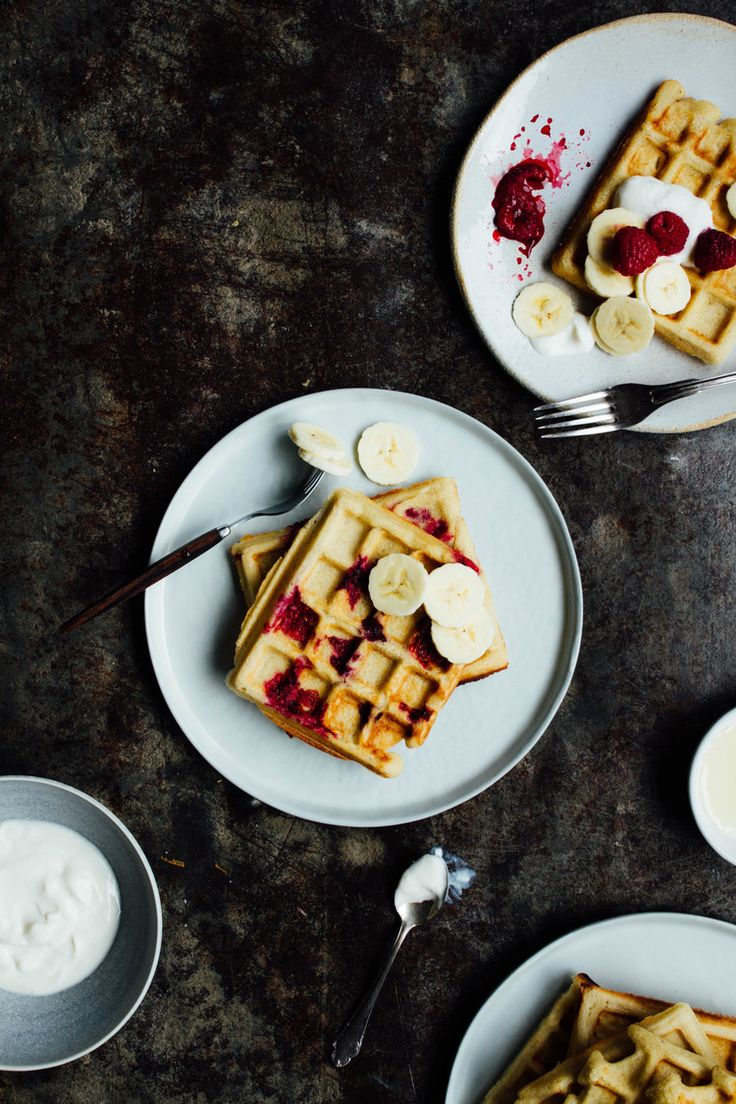 waffles) Base recipe: * 1 ½ cup nut milk * 1 cup hirs flakes * 1 cup ...