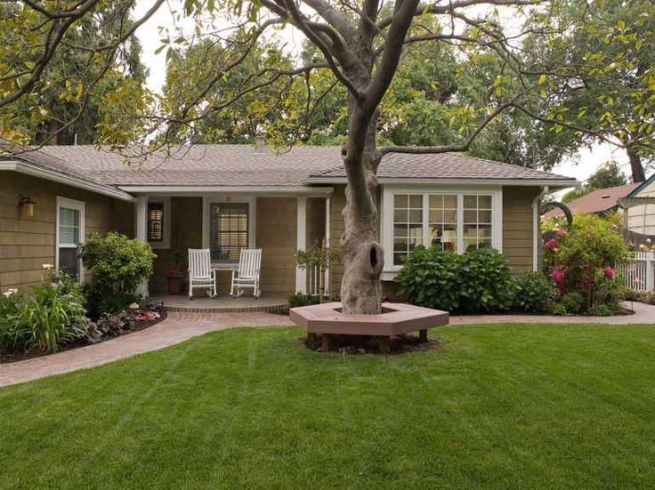California Stucco Ranch To Craftsman Outdoor Ideas