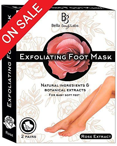 Foot Peel Mask 2 Pack for Smooth Soft Touch Feet - Peeling Away Calluses - Dead Skin Remover - Exfoliating Off Foot Mask for Baby Soft Silk Feet - Gel Socks Booties - Aloe Extract - Natural Rose Scent. For product & price info go to:  https://beautyworld.today/products/foot-peel-mask-2-pack-for-smooth-soft-touch-feet-peeling-away-calluses-dead-skin-remover-exfoliating-off-foot-mask-for-baby-soft-silk-feet-gel-socks-booties-aloe-extract-natural-rose-scent/