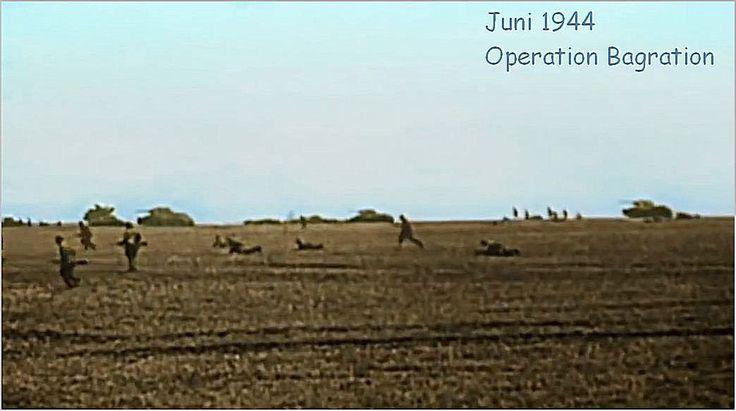 """June 1944 the operation 'Bagration' ---  Видео на 1939-1945.info «Июнь 1941 операция """"Барбаросса"""" / Июнь 1944 операция """"Багратион""""»"""