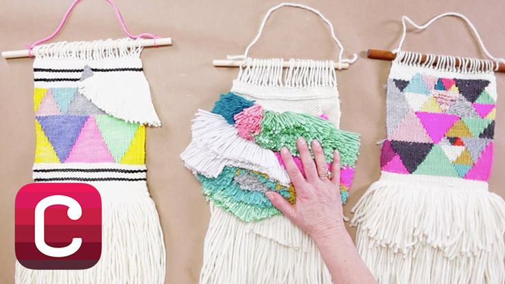 Weaving for Beginners Part 5: Add Internal Fringe and Finish with Annabe...