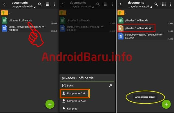 Cara Membuat File Zip Di Android Compress Zip Rar Android Membaca Aplikasi
