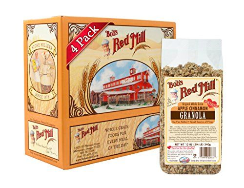 Bobs Red Mill Apple Cinnamon Granola 12 Ounce Pack of 4 -- Check out the image by visiting the link.Note:It is affiliate link to Amazon. #tagblender