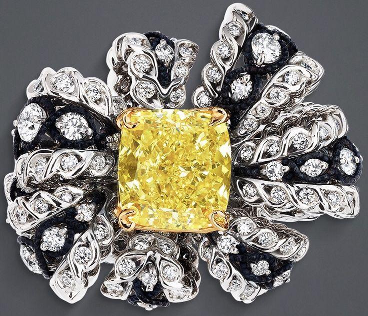Rosamaria G Frangini | High Yellow Jewellery | DIOR. Close up
