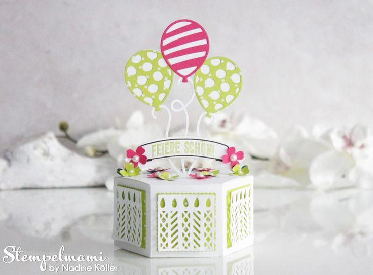 Birthday Gift Box by Nadine Köller - Stampin Up