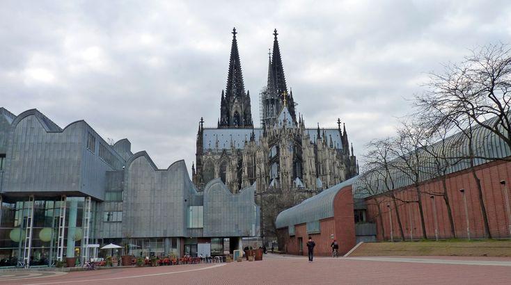 Kölner Panorama/Dom und Museum Ludwig