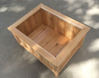 20 x 20 cedar planter box by FimonFurniture on Etsy