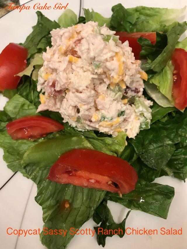 Nachahmer Sassy Scotty Ranch Chicken Salad