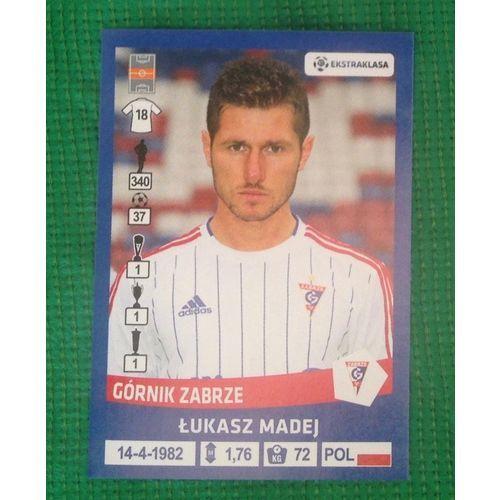 Football Soccer Sticker Panini Polska Ekstraklasa 2016 #74 Gornik Zabrze #gotgotneed