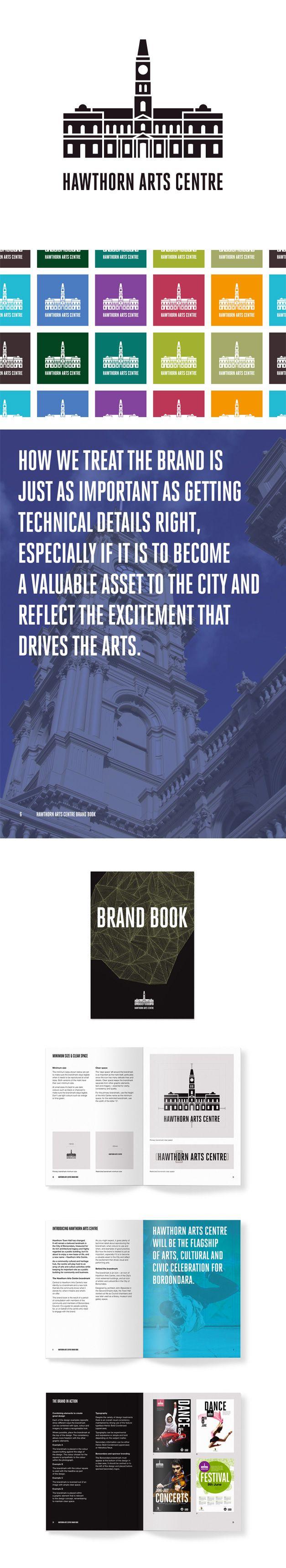 Hawthorn Arts Centre branding for City of Boroondara. www.fenton.com.au #communication #PR #branding #graphicdesign
