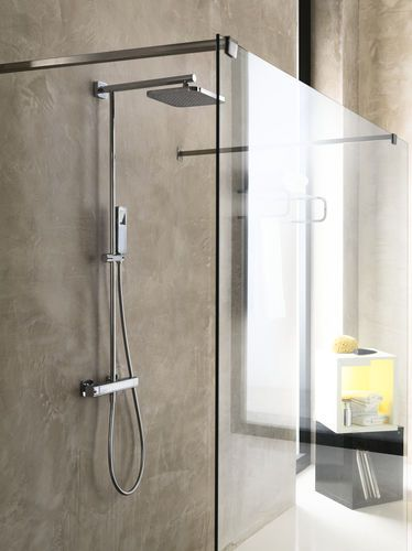 Thermostatic shower column / with hand shower LOOP Nobili Rubinetterie