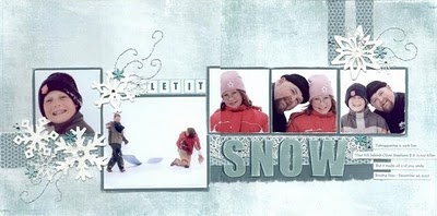 """Let It Snow"" Class by Kim Colliss"