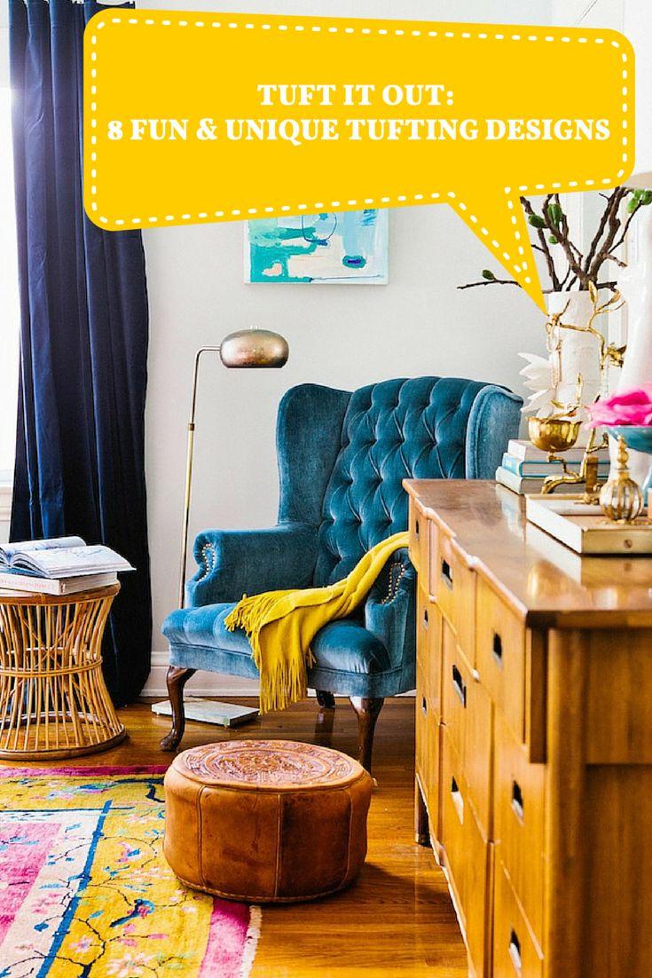 Does your home decor seem to be falling a little flat? Try out these unique tufting design ideas that will fluff up just about any space in your home!