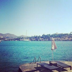 Photo by Georginaj94 at Minos Beach Art Hotel