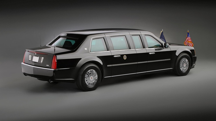 Presidents bullet proof car
