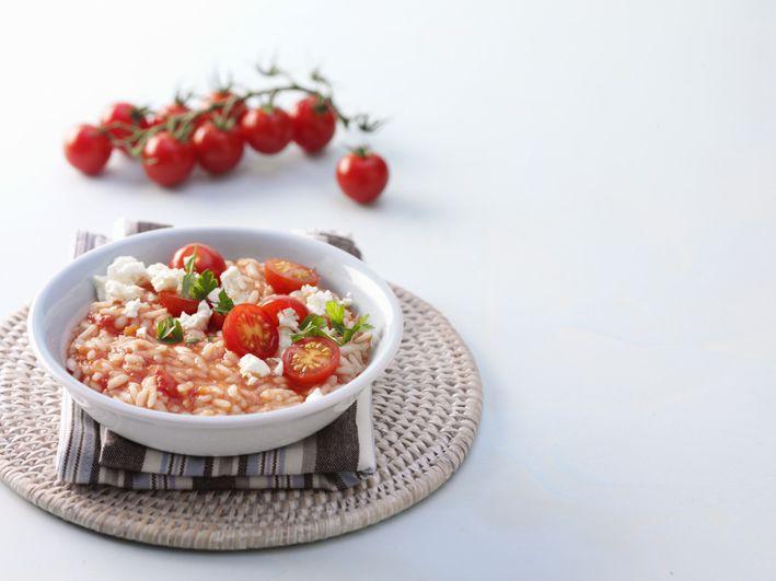 Περιοδικό Έτσι Απλά   Καλοκαιρινό ριζότο Tomato risotto