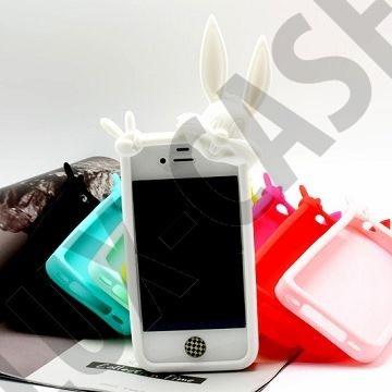 iPhone 4 valkoiset pupu suojakuoret!