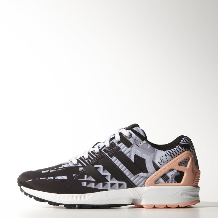 chaussure adidas zx flux blanc