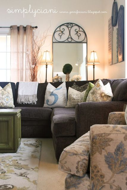 cute living room decor. Cute living room in a military home with those plain white walls  Best 25 ideas on Pinterest Decor
