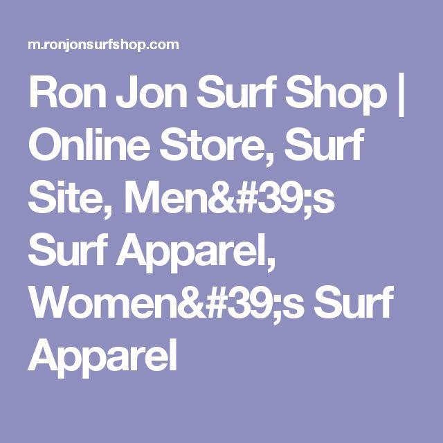 Ron Jon Surf Shop   Online Store, Surf Site, Men's Surf Apparel, Women's Surf Apparel