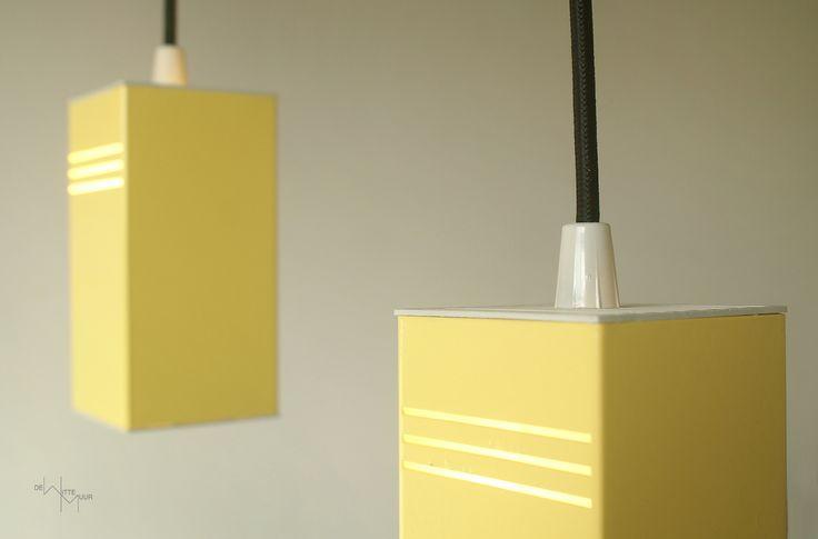 Gele hanglampjes, jaren '80