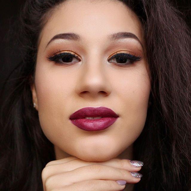WEBSTA @ crinuuu - Makeup Tutorial on this look! ✨  Link in bio ✨✨ #makeupoftheday #motd #crinamatei #nyx