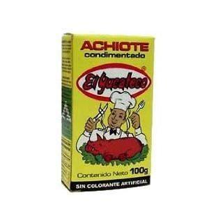El Yucateco Annatto Achiote Seasoning