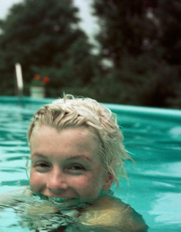 Marilyn Monroe, photo by Milton Greene, Connecticut, 1955