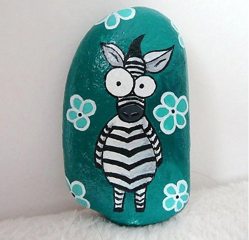 Veselá zebra by -ELYN- - SAShE.sk - Handmade Drobnosti