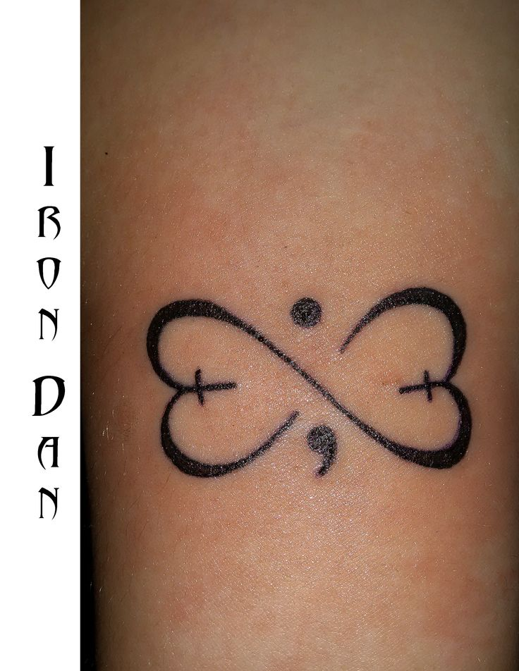 Best 20 infinity cross ideas on pinterest no signup for Semicolon tattoo price