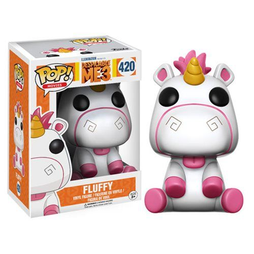Despicable Me 3 Fluffy Pop! Vinyl Figure - Funko - Despicable Me / Minions - Pop! Vinyl Figures at Entertainment Earth