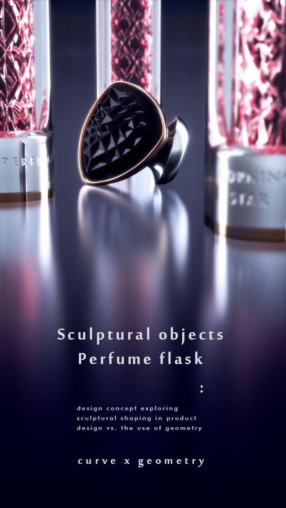 Perfume Vial by Ivan Venkov at Coroflot.com