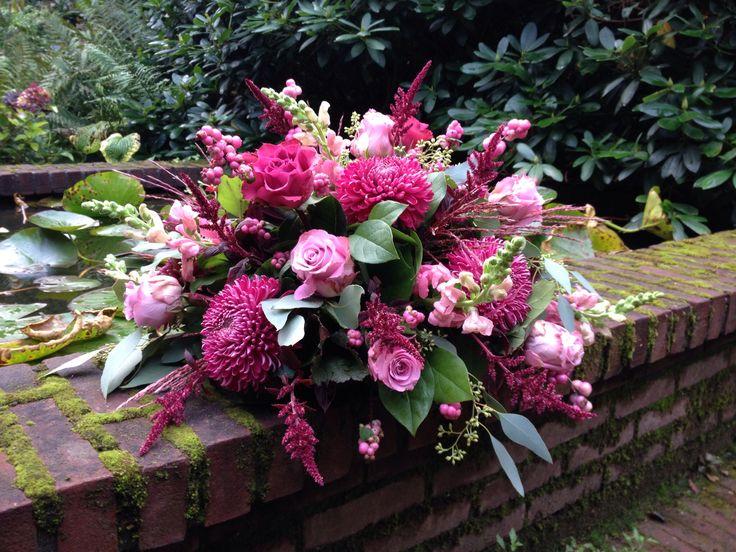 Afscheidsbloemen BLOM BLoemwerk Op Maat #Wageningen
