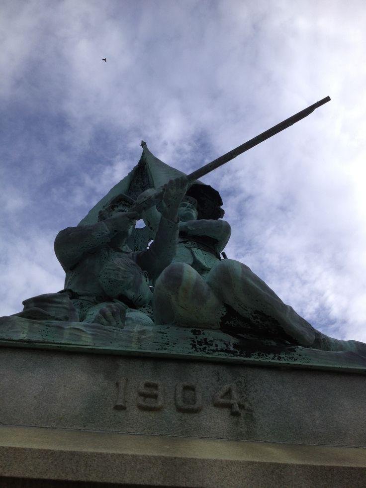 Monument Central Park Decatur Illinois