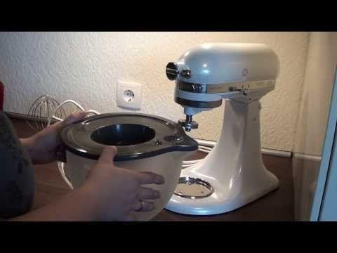 Vorstellung des KitchenAid Gemüseschneider MVSA und Zubehörset EMVSC - YouTube