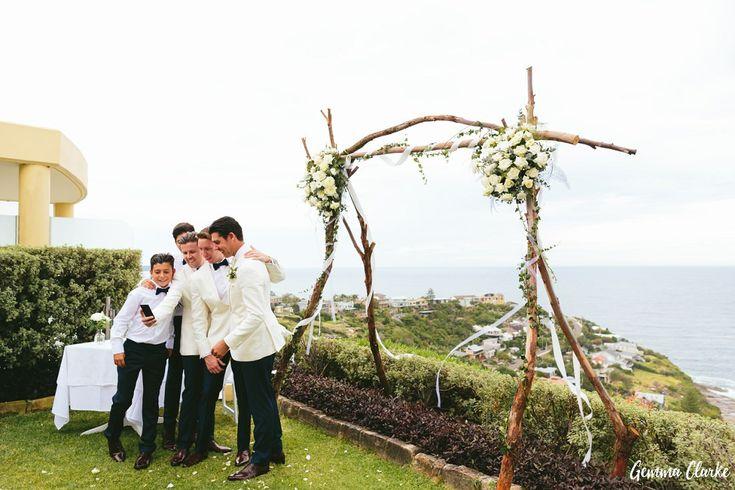 Julia and Byron's Wonderful Whale Beach Wedding