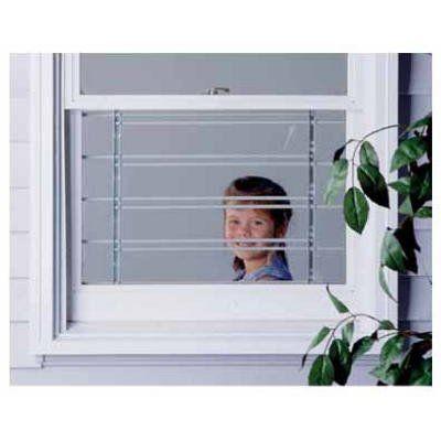 Window Security Guard, Adjustable, 3-Bar: Model# 1133 | True Value
