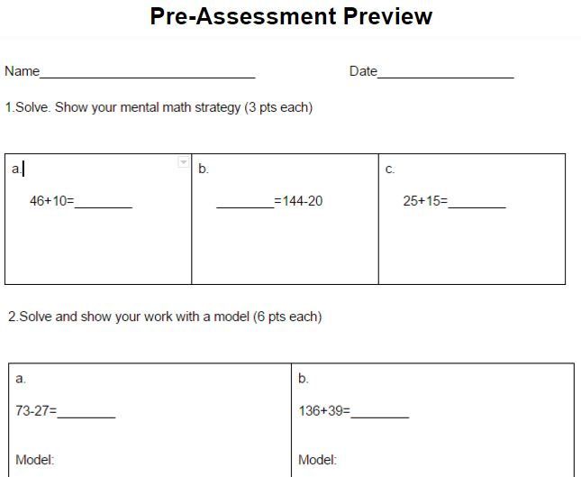 Engage New York 2nd Grade Module 4 Assessments   Engage ny ...