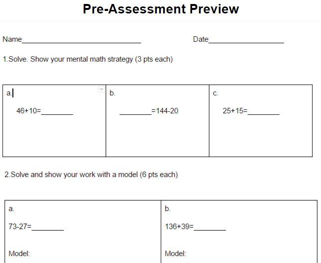 Go Math Grade 6 Answer Key Module 4 - grade 6 mathematics ...