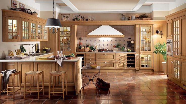 Итальянская компания Scavolini представляет: кухня Baltimora