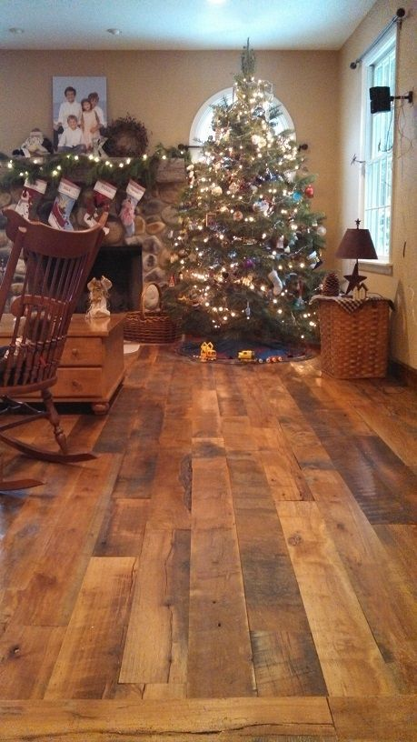 Reclaimed Wide Plank Flooring -  Mixed Hardwoods, Beech, Birch & Maple
