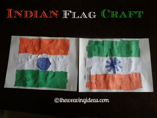 Craft for Indian Independence day and Republic Day