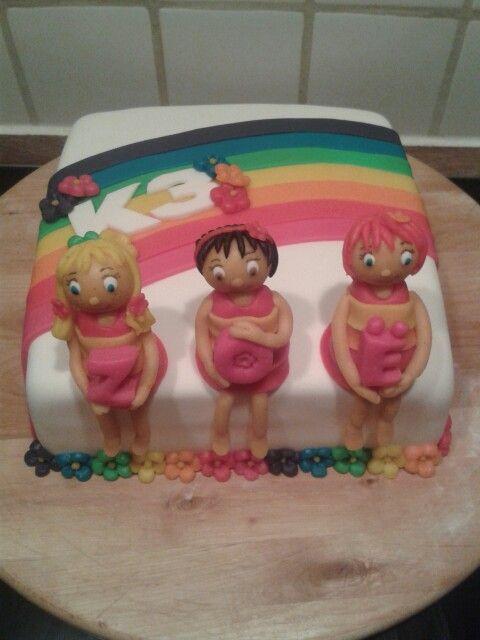 K3 Taart (Demi's Cupcakes & Taarten )