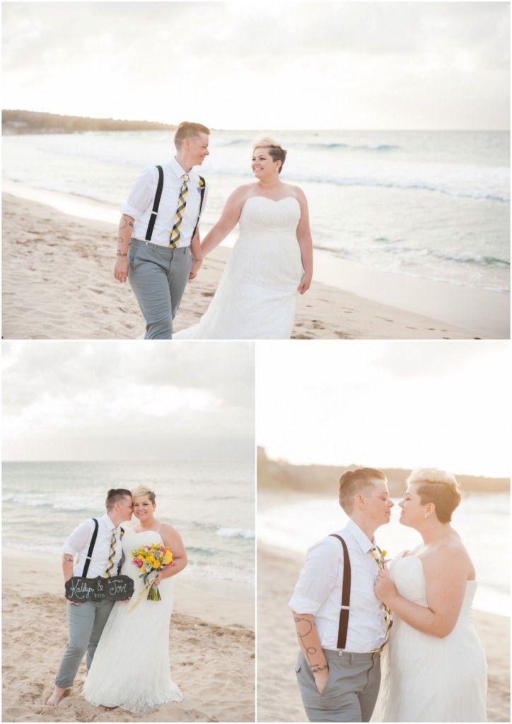 Beach Wedding photography by Karma Hill :: Hawaii Beach Wedding at Ironwoods Maui