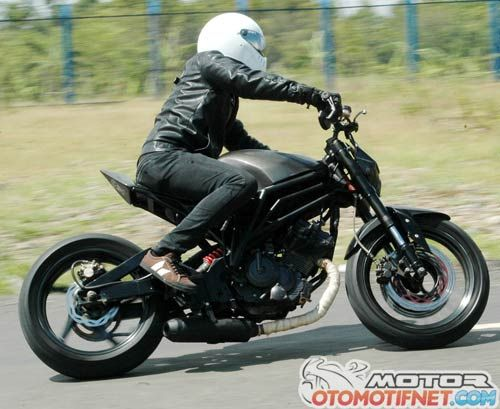 Modifikasi Suzuki Satria FU 150, Ganti Kelamin Ala Minor Fighter!