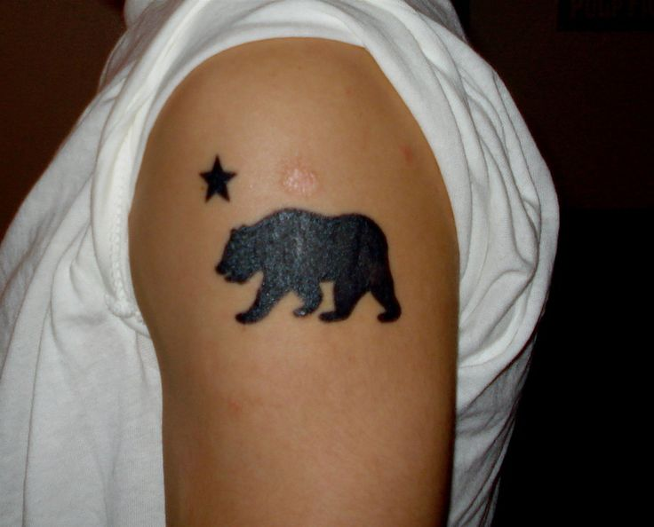 1000 ideas about california bear tattoos on pinterest bear tattoos california tattoos and. Black Bedroom Furniture Sets. Home Design Ideas