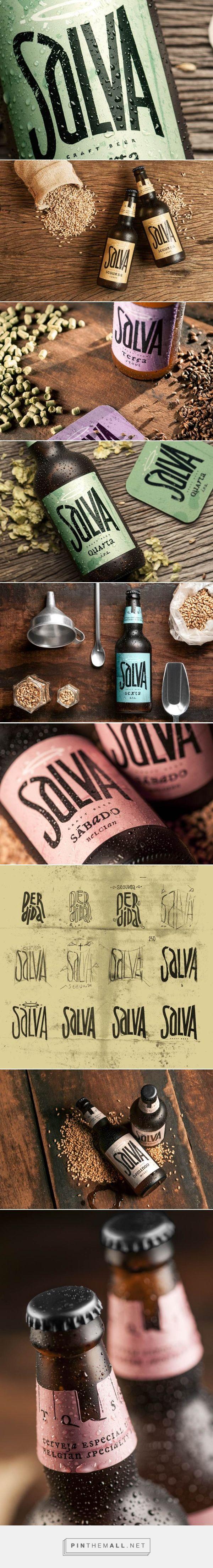 Identity & Packaging of Salva Craft Beer | Abduzeedo Design Inspiration