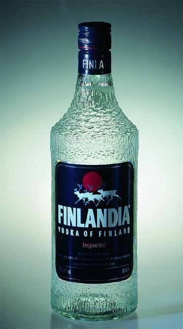 Finlandia vodka bottle - by Wirkkala