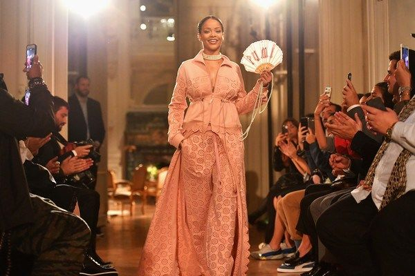 Fenty x Puma Paris Fashion Week Debut